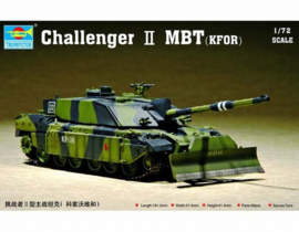 Trumpeter | 07216 | Challenger II MBT KFOR | 1:72