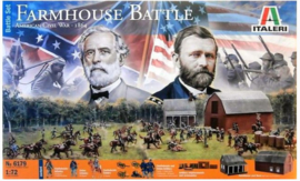 Italeri | 6179 | Farmhouse Battle American Civil War - 1864 | 1:72