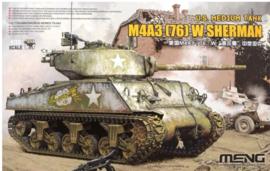 Meng | TS-043 | M4A3 76(W) Sherman | 1:35