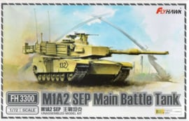 Flyhawk | fh3300 | M1A2 SEP Main Battle Tank | 1:72