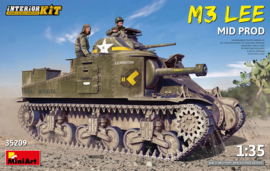 MiniArt | 35209 | M3 Lee mid production |  With Interior | 1:35