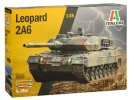 Italeri | 6567 | Leopard 2a6 with NL decals | 1:35