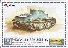 panzer 1 ausf.F vk1801 early