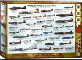 Eurographics | Puzzel 1000 | World War II Aircraft