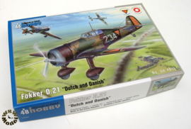 1:48 fokker D.21 Dutch/Danish