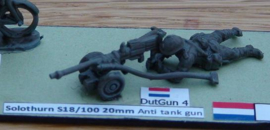 EarlyWarMiniatures | dutgun4 | Solothurn s18/100 with crew in firing position | 1:72