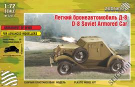 Zebrano | 72113 | D-8 Soviet Armored Car | 1:72