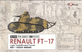 Flyhawk | fh3001 | Renault FT17 rivetted turret, 1+1 | 1:72