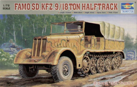 18 Tons Halftrack Famo  SD.KFZ.9