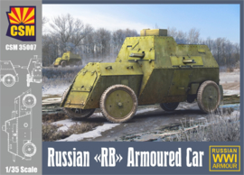 CopperStateModels | CSM35007 | Russian RB Armoured Car | 1:35