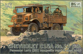 Chevrolet C15A, No. 13 Cab - Personal Lorry