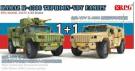 RPG | 35019 | KAMAZ K-4386 Typhoon-VDV Family | 1:35