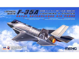 Meng | LS-011 | F-35A (with dutch decals) | 1:48
