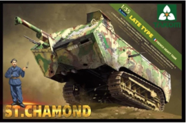 Takom | 2012 | St. Chamond late type, French heavy tank | 1:35