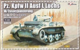 "Pz.Kpfw. II Ausf. L ""Luchs""  with Zusatzpanzerung"