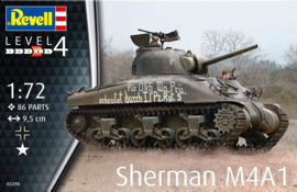 Revell | 03290 | Sherman M4A1 | 1:72