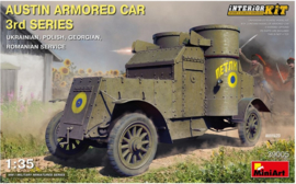 MiniArt | 39005 | Austin Armored Car 3rd Series  w/interior | 1:35