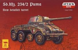 Attack | 72-002 | Sd.Kfz.234 /2 Puma | 1:72