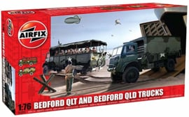 Airfix | A03306 | Bedford QLT and QLD Trucks| 1:76