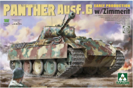 Takom | 2134 | Panther Ausf.G early W/Zimmerit | 1:35