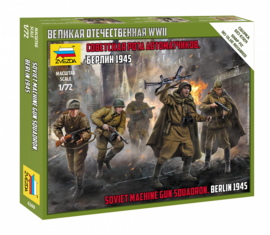 Zvezda | 6269 | Soviet Machinegun squad Berlin 1945 | 1:72