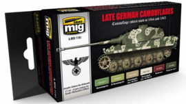 MIG | 7101 | Late German Camouflages | Acrylic Paint