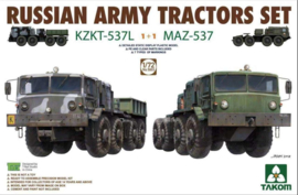 MAZ-537 and KZKT-537L combo