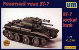 BT-7 rocket tank