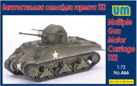 UM | 466 | Multiple Gun Motor Carriage T52 | 1:72