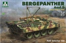 Takom | 2102 | BergePanther Ausf.D | Full interior |  1:35