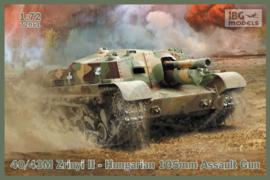 40/43M Zrinyi II - Hungarian 105mm Assault Gun