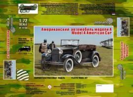 Zebrano | 72109 | Ford  model A | 1:72