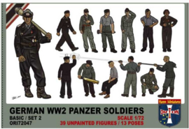 Orion | 72047 | German WW2 Panzer Soldiers set2 | 1:72