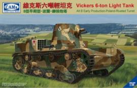 Cams | cv35-005 | Vickers 6-ton light tank | 1:35