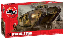 Airfix | A01315 | WW1 MkI Male tank | 1:76