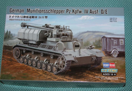 HobbyBoss | 82907 | Munitionsschlepper Pz.Kpfw. IV Ausf. D/E | 1:72