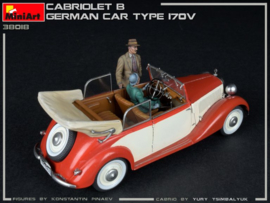 MiniArt | 38018 | Cabriolet B German Car Type 170V | 1:35