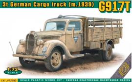 Ace | 72580 | G917T 3t German Truck mod 1939 | 1:72