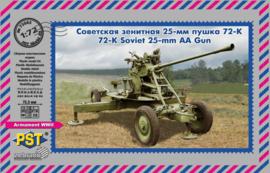 Soviet 72-K 25-mm AA Gun
