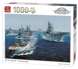 King | Puzzel 1000 | Victory Parade