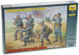 German infantry platoon