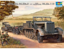 sdkfz9 & sdah116 tank transport