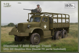 IBG | 72083 |  Diamond T 968 Cargo truck with M2 machine gun | 1:72