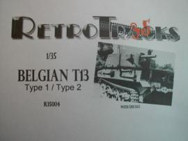 Retrotracks | 35004 | Belgian T13 type1/2 | 1:35