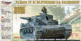 Mirage | 72854 | Pz.Kpfw. IV Asuf.D Blitzkrieg | 1:72