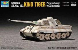 King tiger (Porsche Turret) with Zimmerit
