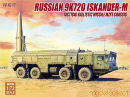 ModelCollect | UA72105 | Russian 9K723 Iskander-M Tactical Ballistic Missile MZKT chassis | 1:72
