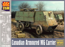 CopperStateModels | CSM35006 | Canadian Armored MG Carrier | 1:35