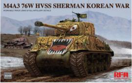 Rye Field Model   5049   M4A3 76W HVSS Sherman Korean war   1:35