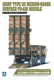 Aoshima | 055397 | JGSDF Type 03 Medium-Range Surface-to-Air Missile | 1:72